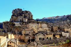 The cliff of the Madonna de Idris (annalisabianchetti) Tags: church chiesa matera sassi urban beautiful beauty italy travel unesco basilicata architecture architettura heritage