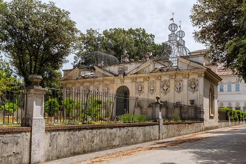 Ucelliera, Villa Borghese, Roma