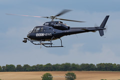 BBC News Eurocopter AS.355-F2 G-INTV (Mark_Aviation) Tags: during daks over duxford event bbc news eurocopter as355f2 gintv filming 21 dakotas taking off from heading normandy 05062019 iwm egsu