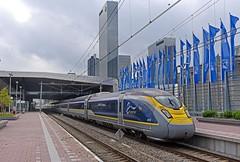 Eurostar at Rotterdam (garstangpost.t21) Tags: eurostar e320 class374 4018 4017 amsterdam brussels