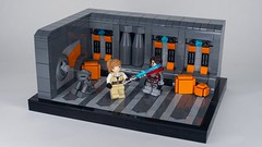 No Way Out (N-11 Ordo) Tags: starwars lego legostarwars legomoc legobuild legobuilder star wars kotor kotor2 knights old republic jedi sith ordobuilds n11 ordo vignette legovignette bricks legobricks snot t3 droid