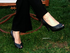(Mr2D2) Tags: anklet wife heels feet pedi
