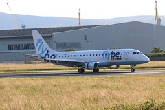 Flybe G-FBJA BHD 25/06/19 (ethana23) Tags: aviation avgeek aeroplane aircraft airplane planes planespotting flybe embraer e175 175