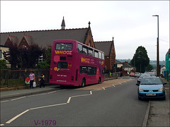 4102 (V102 MOA) ((Stop) The Clocks) Tags: 4102 volvo volvob7 thegreenbus v102moa vamooz plaxton volvob7tl travelwestmidlands