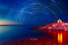 from sunset to stars (Florent Péraudeau) Tags: from sunset stars canon canon1dmarkiv eos 1 d 1d mark iv 4 mk is usm 24105 24 105 f4 l skylum aurora 19 luminar 2018 18 collioure langudoc roussillon occitanie