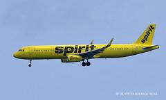 Spirit A321 ~ N673NK (© Freddie) Tags: aruba oranjestad surfsidebeach spirit airbus a321 n673nk aua tnca tncaaua fjroll ©freddie