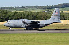 C130H  42132 (TF102A) Tags: aviation aircraft airplane prestwick prestwickairport c130 c130h hercules usaf usairforce 42132
