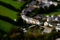 Launceston (Tim Dawson) Tags: launceston town houses tilt shift model cornwall