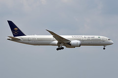 Saudi Arabian Airlines Boeing 787-9 Dreamliner HZ-AR22 (EK056) Tags: saudi arabian airlines boeing 7879 dreamliner hzar22 kuala lumpur international airport