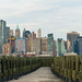 Lower Manhattan seen from the terminus of the Central Railroads of New Jersey