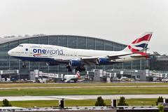 G-CIVL (hartlandmartin) Tags: gcivl britishairways boeing 747400 heathrow lhr egll aircraft airline airport aeroplane aviation airplane airlines plane landing nikon d7200 70300afp