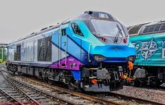 68027 @ Crewe (A J transport) Tags: class68 diesel 68027 drs transpennineexpress splendid locomotive railway trains england
