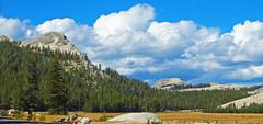 Clouds and Granite, Tuolumne Meadows, Yosemite 2017 (inkknife_2000 (10.5 million + views)) Tags: easternsierranevada yosemitenationalpark california usa landscapes mountains dgrahamphoto rocks tuolumnemeadow spring granite granitedomes skyandclouds fluffyclouds softandhard