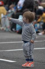 Pointing (Scott 97006) Tags: kid child boy pointing alert street point