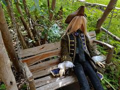 Londen on the swing (steamwitch) Tags: bjd bjdmale bjdboy bjdphotography soom soomdia steampunk