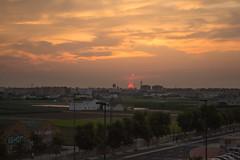 Amanecer en Alboraya visto desde Valencia (dorieo21) Tags: sun sol sunrise soleil amanecer aurore alboraia alboraya nikon cloud nube cielo sky ciel nuage albaluminis