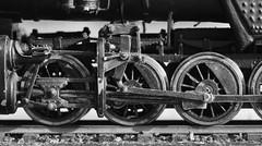 Wheels (177/365) (johnstewartnz) Tags: wheels wheel macro macromondays macromonday niksilvereffectspro blackandwhite bw monochrome locomotive steamlocomotive cabforward sp southernpacific 4027 ac2 sp4027 tripod canon canonapsc apsc eos 100canon 7dmarkii 7d2 7d canon7dmarkii canoneos7dmkii canoneos7dmarkii 100mm 100mmf28lmacro 100mmmacro