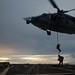 Sailors from EODMU5 conduct VBSS training at sea