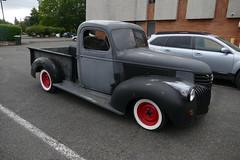 Trucks on the street (bballchico) Tags: truck carsonthestreet billetproofwashington centraliawashington chevrolet pickuptruck