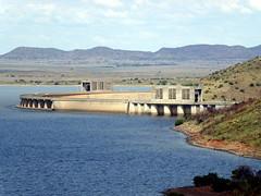 Dam Wall (Proteus_XYZ) Tags: southafrica freestate karoo gariepdam damwall staumauer