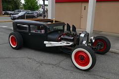 Cars on the street (bballchico) Tags: sedan hotrod coupe centraliawashington carsonthestreet billetproofwashington chevrolet tri5