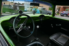 Cars on the street (bballchico) Tags: carsonthestreet billetproofwashington centraliawashington tri5 chevrolet gasser