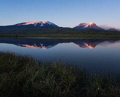 Land of Volcanoes (tms\) Tags: volcano kamchatka russia peninsula lake reflection mountains
