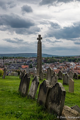 The Graveside view (daveseargeant) Tags: whitby north yorkshire seaside coastal graves grave graveyard monument nikon df 18g colour sea