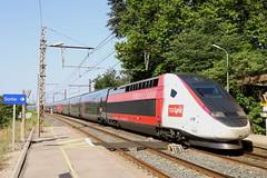 SNCF TGV 4718 310035 Lyria Schweit - Frankreich, Gallargues (michaelgoll777) Tags: sncf tgv lyria