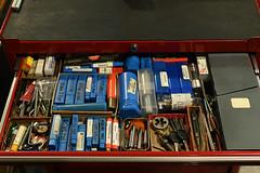 Consumables Drawer (44 Bikes) Tags: 44bikes manualmachinist frameshop tooling jig fixture shed shop tigwelding backpurge titanium