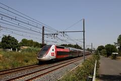 SNCF TGV 4726 310051 Lyria Frankreich - Schweiz, Gallargues (michaelgoll777) Tags: sncf tgv lyria