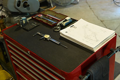 Clean (44 Bikes) Tags: 44bikes manualmachinist frameshop tooling jig fixture shed shop tigwelding backpurge titanium