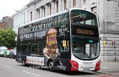 Bus Eireann VWD44 (151C7166). (Fred Dean Jnr) Tags: buseireannroute215a cork volvo b5tl wright eclipse gemini3 vwd44 151c7166 southmallcork june2019 wrap carrolls buseireann alloverad