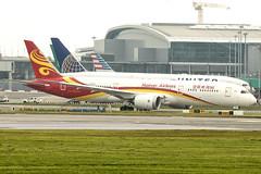 B-207J | Hainan Airlines | Boeing B787-9 Dreamliner | CN 62740 | Built 2018 | DUB/EIDW 16/05/2019 (Mick Planespotter) Tags: aircraft airport 2019 nik sharpenerpro3 b787 b789 dublinairport collinstown b207j hainan airlines boeing b7879 dreamliner 62740 2018 dub eidw 16052019