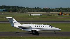 G-TWOP Cessna 525, Prestwick (wwshack) Tags: ce525 cessna citationcj3 egpk glasgowprestwick pik prestwick scotland businessjet executivejet gtwop