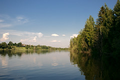 Dichki pond / Пруд Дички (Boris Kukushkin) Tags: pond water trees forest belarusian nature belarus lake sky green blue landscape waterscape пейзаж небо вода пруд озеро беларусь лес дерево деревья зеленый голубой синий дички dichki берег