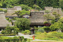 Traditional houses (Teruhide Tomori) Tags: house countryside inaka life wooden architecture tradition building construction kyoto japan miyama 美山 京都 郵便ポスト post 伝統家屋 茅葺き集落 かやぶき屋根 日本 木造建築 japon landscape happyplanet asiafavorites