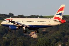 G-EUYN_01 (GH@BHD) Tags: geuyn airbus a320 a320200 a320232 ba baw britishairways speedbird shuttle unionflag aircraft aviation airliner bhd egac belfastcityairport