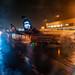 EMB 175s & Dash 8-400 at SeaTac Gate on a Wet Night