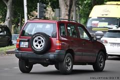 Chevrolet Tracker - Georgia (Helvetics_VS) Tags: licenseplate chevrolet tracker georgia