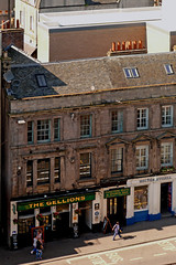 Looking down on Bridge Street (Taysider64) Tags: inverness town shops street pub publichouse gellions