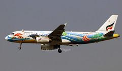 HS-PGW (Ken Meegan) Tags: hspgw airbusa320232 2509 bangkokairways bangkok suvarnabhumi 1322019 marineparadise logojet airbusa320 airbus a320232 a320