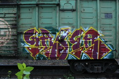 IMG_1320 (Freight_punk) Tags: saber freighttraingraffiti freighttrainwriting russianfreightgraffiti freightgraffiti fr8 freightheaven freightporn freighttrain freightlife freightlove freightaddict freight colorful graffiti moscow russia boxcar