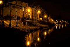 Sbenstimmung (KN-Lichtspiel) Tags: nachtfotos etang canaldumidi frankreich marseillette