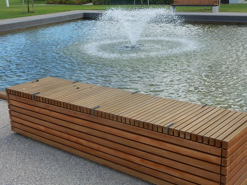 Bench with Fountain