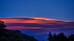 Sunset in the East. (Narodnie Mstiteli) Tags: cirrocumulusstandinglenticular cloud east sunset goldenhour color donbachman reno nevada narodniemstiteli marshalartsofchilcoot lookingeast desert lenticular