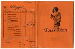 . (Kaïopai°) Tags: vintage fototüte fotolabor fotohaus fotobestellung negativtasche zeiss zeissikon femme frau woman frow grafik graphic widmann weilheim