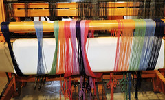 Loom (Will S.) Tags: loom mypics machine machinery machines carding combing mississippivalleytextilemuseum rosamundwoollencompany formeroffices formerfactory former offices factory almonte ontario canada sheep wool tool tools
