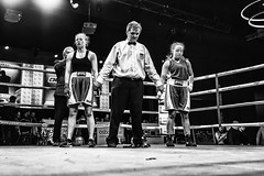 Detonation Boxing 14 - Ringside (Leighton Wallis) Tags: sony alpha a7r mirrorless ilce7r 55mm f18 emount 1635mm f40 newcastle nsw newsouthwales australia nex newcastleworkersclub fight bout boxing boxers womens jessleask