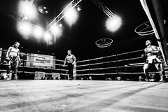 Detonation Boxing 14 - Ringside (Leighton Wallis) Tags: sony alpha a7r mirrorless ilce7r 55mm f18 emount 1635mm f40 newcastle nsw newsouthwales australia nex newcastleworkersclub fight bout boxing boxers womens pam pammymcclelland